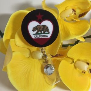 California Retractable Badge Holder